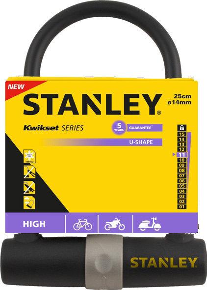 Velosipēda slēdzene STANLEY, S755-201 cena un informācija | Velosipēda piederumi | 220.lv