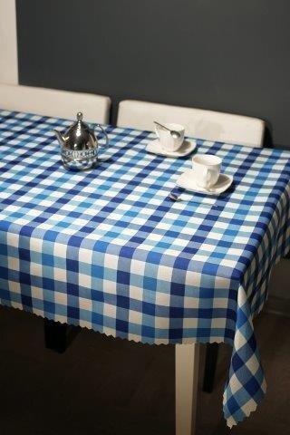 Rūtains, traipu izturīgs galdauts, 90 x 160 cm cena un informācija | Galdauti, virtuves dvieļi | 220.lv