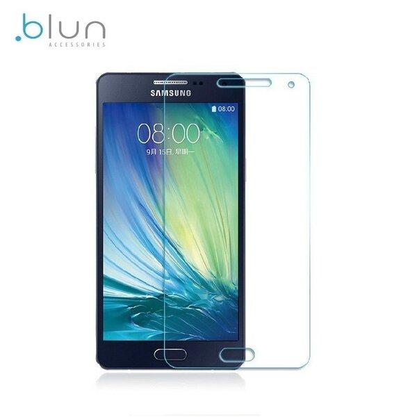 Blun Extreeme Shock 0.33mm / 2.5D Aizsargplēve-stiklss Samsung A500F Galaxy A5 (EU Blister) cena un informācija | Ekrāna aizsargplēves | 220.lv