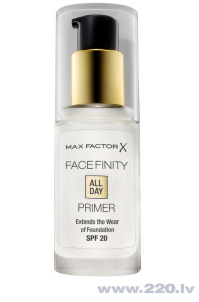Grima bāze Max Factor Facefinity All Day Flawless Primer, 30 ml cena un informācija | Seja | 220.lv