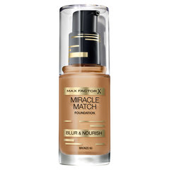 Tonālais krēms Max Factor Miracle Match, 30 ml