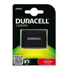Duracell Премиум Аналог Canon LP-E10 Аккумулятор 1100D 1200D Rebel T3 Kiss X50 7.4V 1020mAh