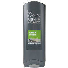 Dušas želeja Dove Men +Care Extra Fresh 250 ml cena un informācija | Dušas želeja Dove Men +Care Extra Fresh 250 ml | 220.lv