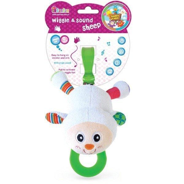 Rotaļlieta BAM BAM aita, 321958 cena un informācija | Rotaļlietas zīdaiņiem | 220.lv