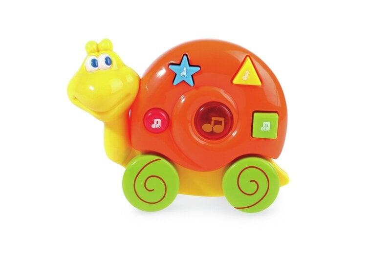 Rotaļlieta ar skaņu BAM BAM gliemezis, 286253 cena un informācija | Rotaļlietas zīdaiņiem | 220.lv