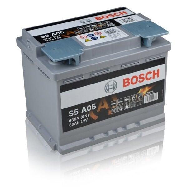 Akumulators Bosch 60Ah 680A S5A05 cena un informācija | Akumulatori | 220.lv