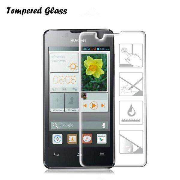 Tempered Glass Extreeme Shock Aizsargplēve-stikls Huawei Ascend Y3 II (2016) (EU Blister) cena un informācija | Ekrāna aizsargplēves | 220.lv