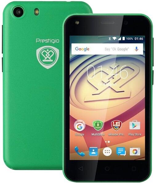Prestigio Wize L3 DUAL Green PSP3403DUO cena un informācija | Mobilie telefoni | 220.lv