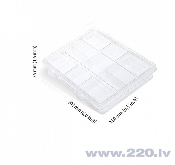 Detaļu kaste Prosperplast NO60 cena un informācija | Instrumentu kastes | 220.lv