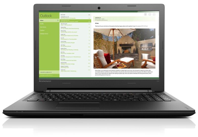 Lenovo IdeaPad IdeaPad 100 (80QQ00R-7RI) cena un informācija   Portatīvie datori   220.lv