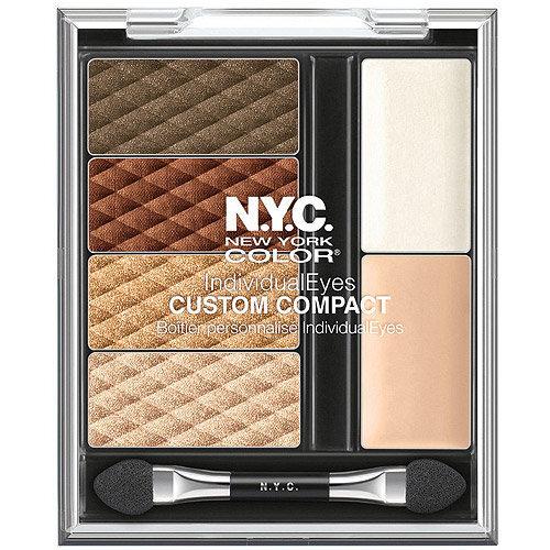 Acu ēnas NYC New York Color Individual Eyes Custom 9,3 g cena un informācija | Acis | 220.lv