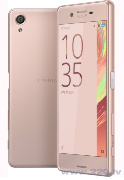 Sony Xperia X F5121 LTE 32GB Rose Gold цена и информация | Mobilie telefoni | 220.lv