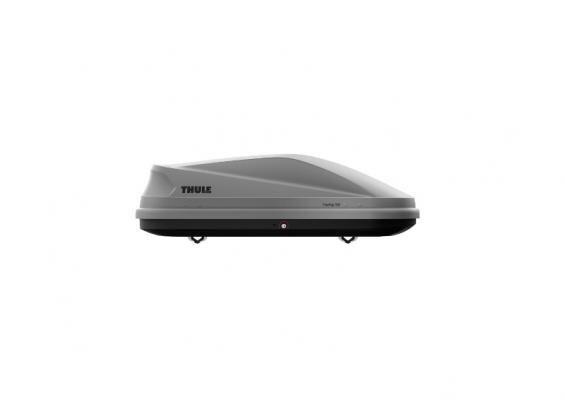 Jumta kaste Thule Touring 100, 330 l, sudrabs cena un informācija | Jumta kastes | 220.lv