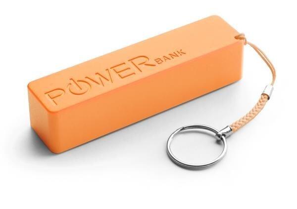 Powerbank Esperanza QUARK 2000 mAh ārējās uzlādes akumulators Oranžs