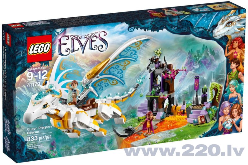 Конструктор LEGO™ Queen Dragon's Rescue 41179 цена и информация | LEGO | 220.lv