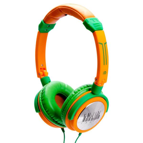 iDance CRAZY-401, zaļā/dzeltenā krāsa cena un informācija | Austiņas | 220.lv