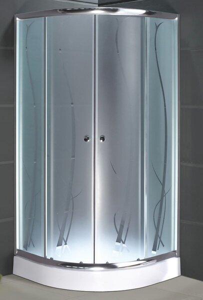 Душевая кабина Armazi S0006AM, 90x90 цена и информация | Stūra dušas kabīnes | 220.lv