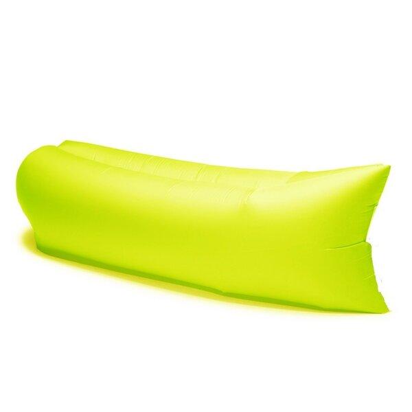 Ar vēju piepūšams guļammaiss AIR BANANA, dzeltens cena un informācija | Matrači un tūrisma paklāji | 220.lv