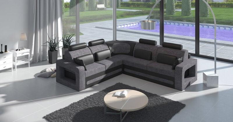 Mikstais stūra dīvāns Bergamo cena un informācija | Dīvāni | 220.lv