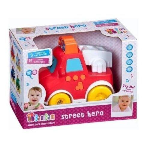 Ugunsdzēsēju mašīna ar skaņu Bam Bam, 338984 cena un informācija | Rotaļlietas zīdaiņiem | 220.lv
