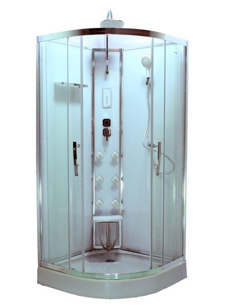 Hidromasāžas dušas kabīne Durasan Bergen Open NS cena un informācija | Masāžas kabīnes | 220.lv