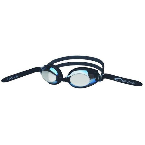 Peldēšanas brilles Spokey DIVER cena un informācija | Peldēšanas un niršanas piederumi | 220.lv
