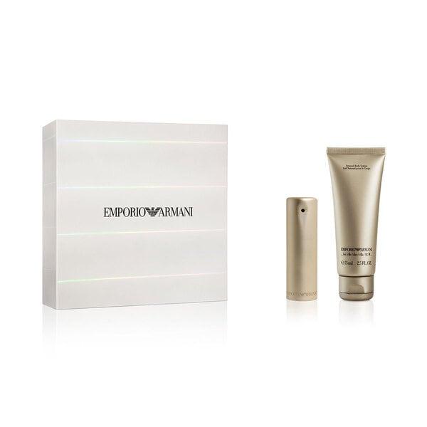 Komplekts Giorgio Armani Emporio Armani She: edp 30 ml + ķermeņa losjons 75 ml cena un informācija | Sieviešu smaržas | 220.lv