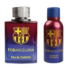 Komplekts EP Line FC Barcelona:edt 100 ml + dezodorants 150 ml