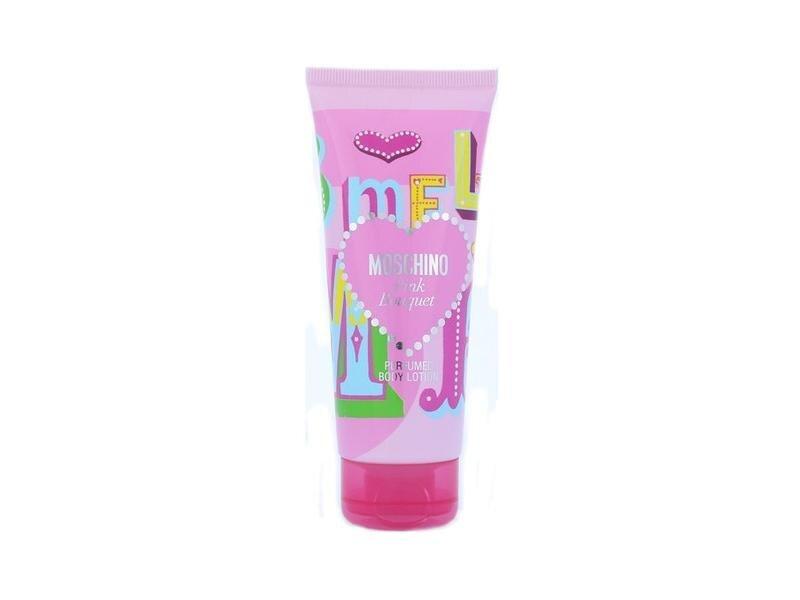 Ķermeņa losjons Moschino Pink Bouquet 100 ml cena un informācija | Parfimēta sieviešu kosmētika | 220.lv