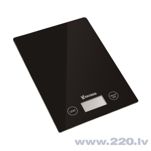 Kitchen scale Vakoss WH-5368K | black