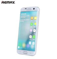 Ekrāna aizsargstikls Remax Ultra Thin priekš Samsung G935F Galaxy S7 Edge Pilna ekrāna Balts