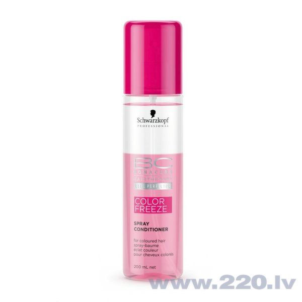 Izsmidzināms kondicionieris krāsotiem matiem Schwarzkopf Professional BC Cell Perfector Color Freeze 200 ml cena un informācija | Kondicionieri, balzāmi | 220.lv