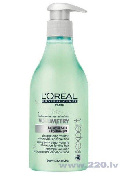 Šampūns matu apjomam L'Oreal Professionnel Paris Serie Expert Volumetry 500 ml cena un informācija | Šampūni | 220.lv