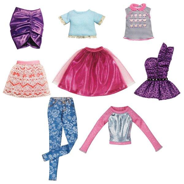 Barbie lelļu drēbju komplekts, CFX73, 1 gab. cena un informācija | Lelles | 220.lv