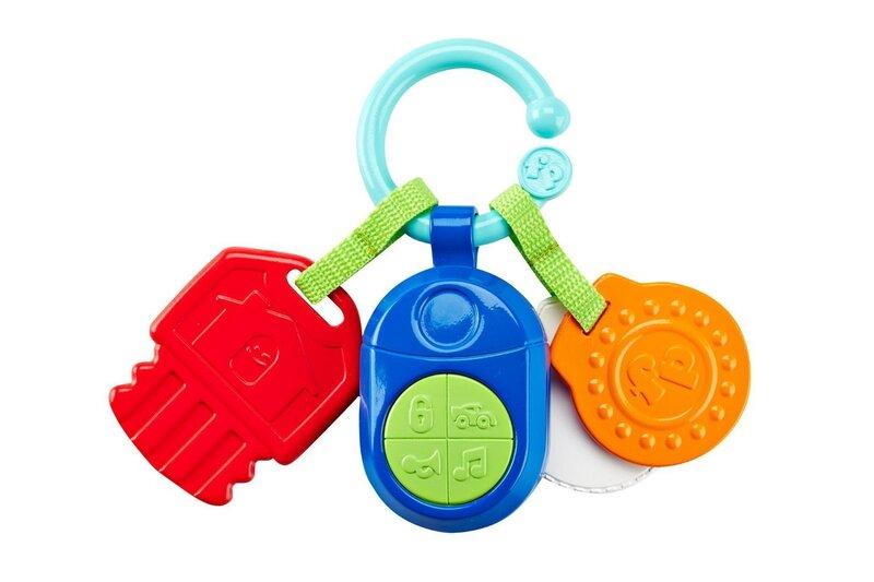 Rotaļu muzikālas atslēgas Fisher Price, DFP52 cena un informācija | Rotaļlietas zīdaiņiem | 220.lv