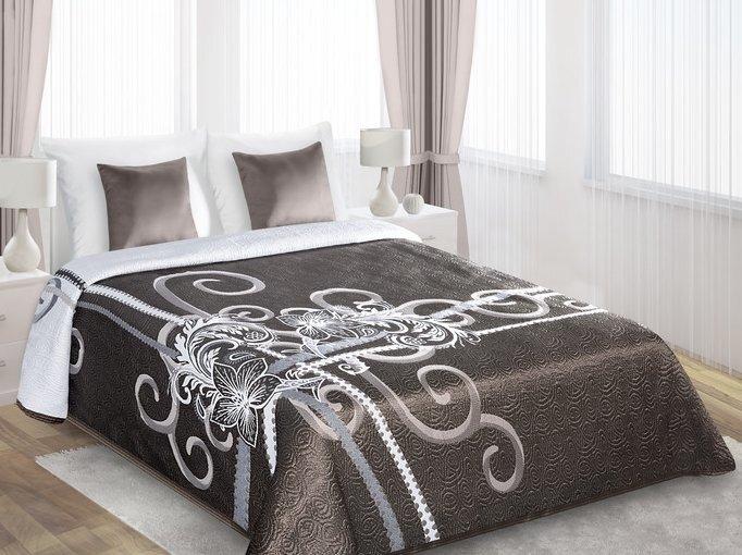 Двухстороннее покрывало, 170 x 210 cм цена и информация | Dekoratīvie gultas pārklāji un pledi | 220.lv