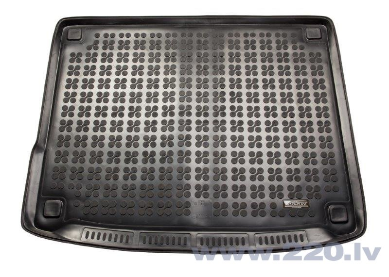 Gumijas bagāžas nodalījuma paklājiņš VW Touareg 5s 2014 & lt; / 231876 cena un informācija | Bagāžnieka paklājiņi pēc auto modeļiem | 220.lv
