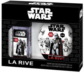 Комплект La Rive Star Wars First Order: edt 50 мл + гель для душа-шампунь 250 мл
