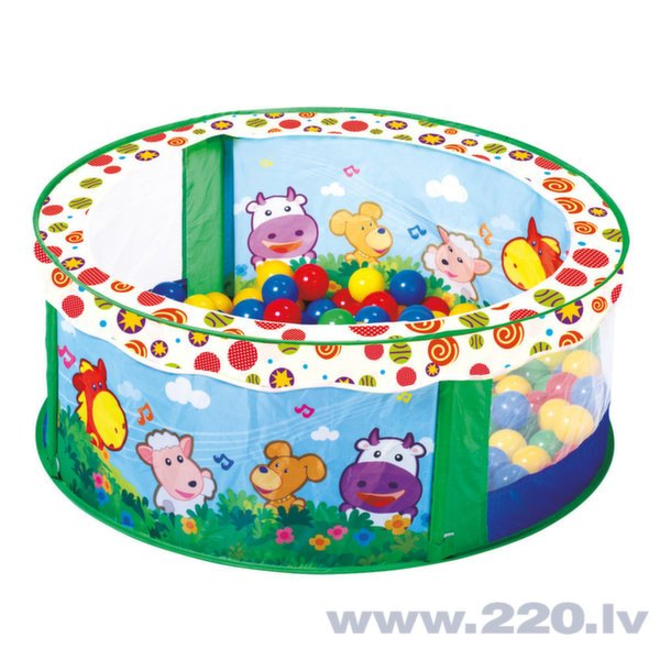 Bumbiņu baseins Bino cena un informācija | Rotaļlietas zīdaiņiem | 220.lv
