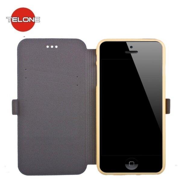 Telone Super тонкий чехол-книжка для мобильного телефона Samsung N930F Galaxy Note 7, Золотистый