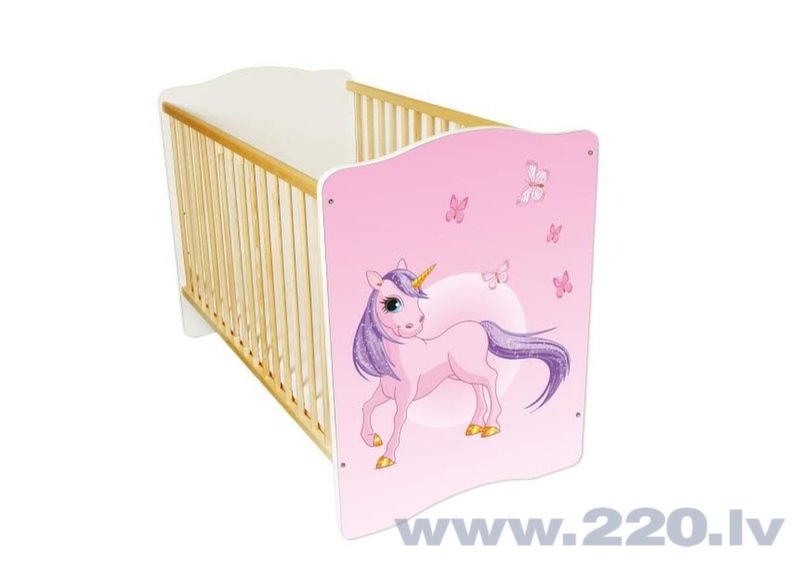 Bērnu gultiņa Amila Baby (8) cena un informācija | Bērnu istabas mēbeles | 220.lv