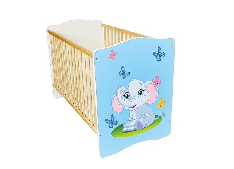 Bērnu gultiņa Amila Baby (25) cena un informācija | Bērnu istabas mēbeles | 220.lv