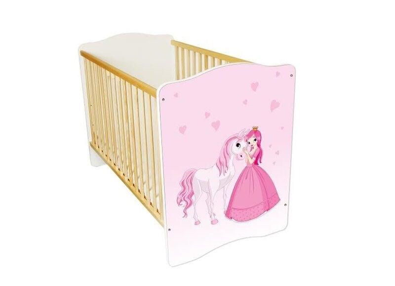 Bērnu gultiņa Amila Baby (3) cena un informācija | Bērnu istabas mēbeles | 220.lv