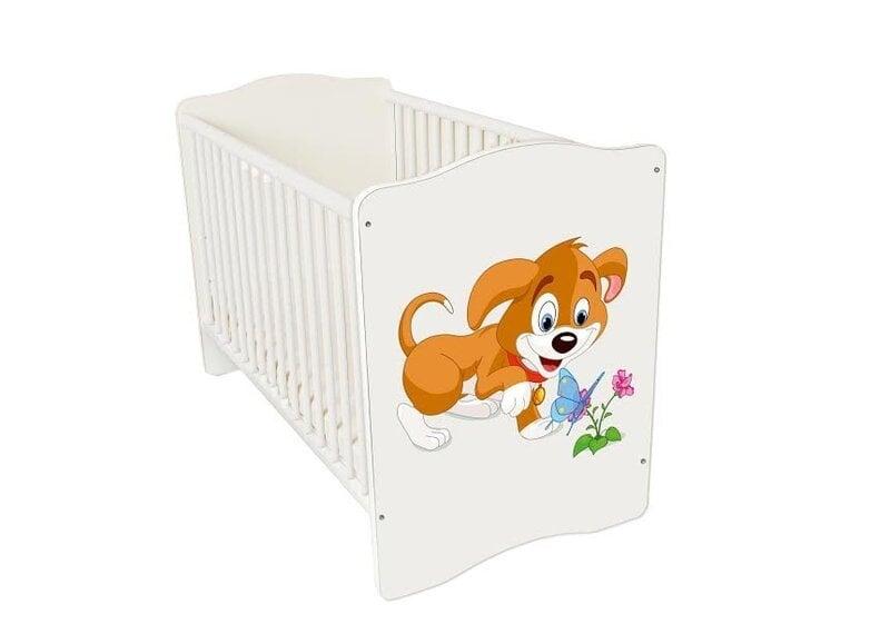 Bērnu gultiņa Amila Baby (45) cena un informācija | Bērnu istabas mēbeles | 220.lv