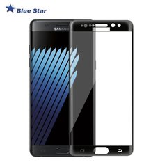 BS Tempered Glass 9H Extra Shock Aizsargplēve-stikls Samsung N930F Galaxy Note 7 Full Face (EU Blister), melns