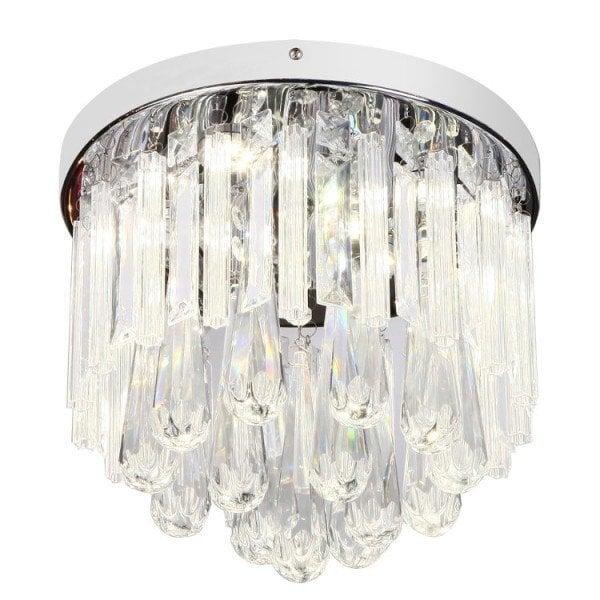 Griestu lampa Candellux Atella LED cena un informācija | Griestu lampas | 220.lv