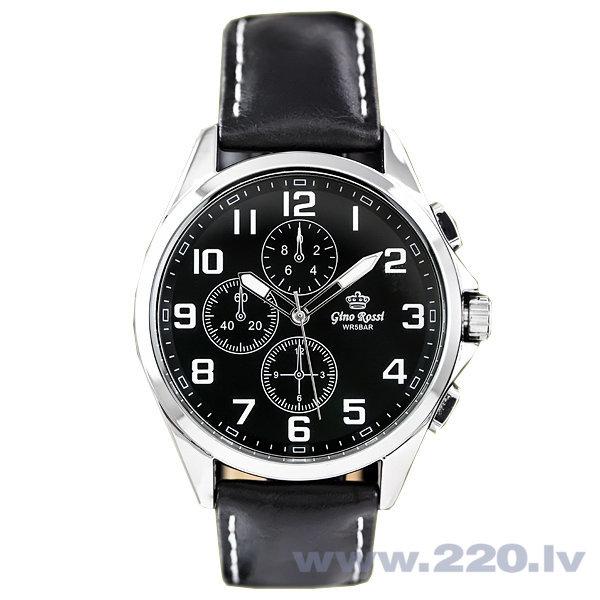Vīriešu rokas pulkstenis Gino Rossi GR9097JJ cena un informācija | Vīriešu pulksteņi | 220.lv