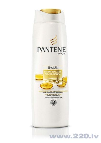 Šampūns sausiem matiem Pantene Moisture 400 ml cena un informācija | Šampūni | 220.lv