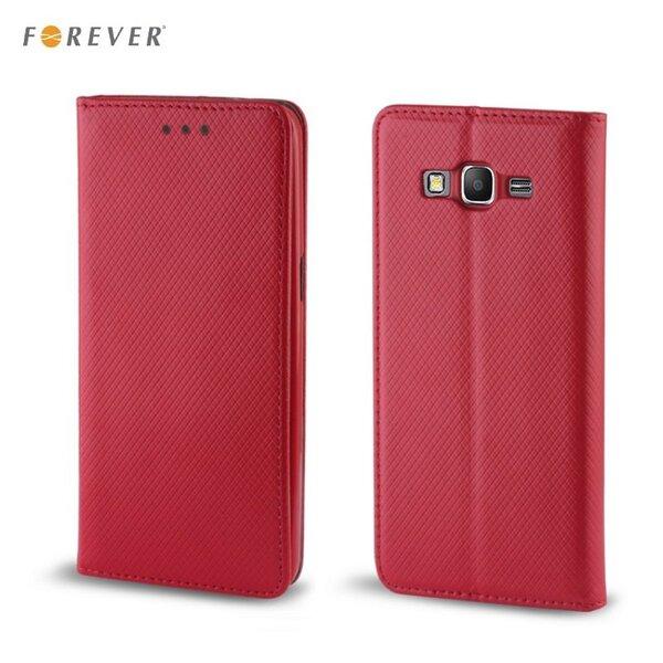 Forever чехол-книжка с магнитной фиксацией, без клипсы HTC Desire 626 / 626G, красный