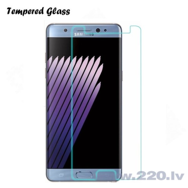 Tempered Glass Extreeme Shock Защитная пленка-стекло Samsung N930F Note 7 (EU Blister) цена и информация | Ekrāna aizsargplēves | 220.lv